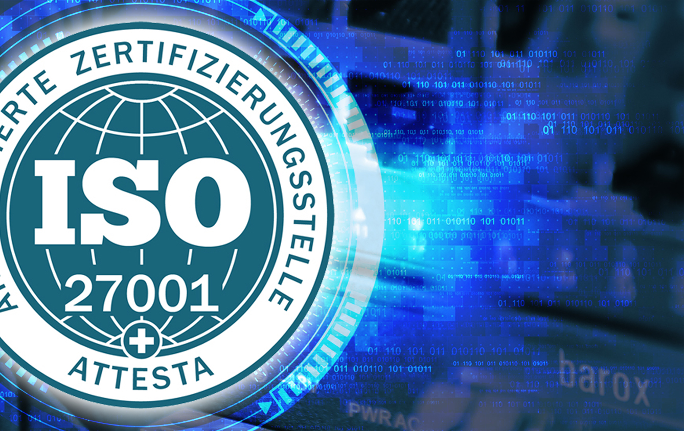 barox is now ISO 27001 certified!
